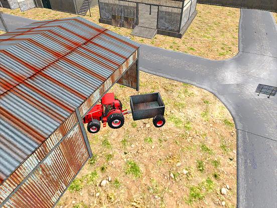 Real Tractor Simulator 3D : Driving Game Free screenshot 6