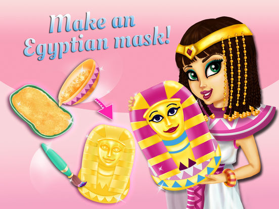 Sweet Egyptian Princess - Fashion Makeover & Kitty Styling screenshot 6