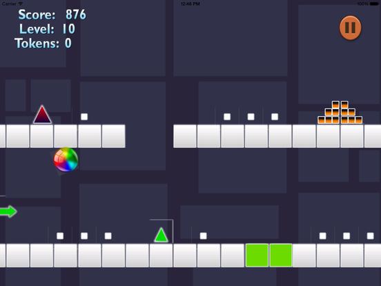 Ball Geometry Color Jumping - True Geometric War Is About To Begin screenshot 10