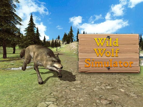 Evil Wild Wolf Simulator 3D screenshot 7