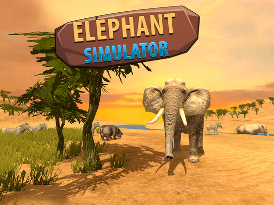 Big Elephant Simulator: Wild African Animal 3D screenshot 7