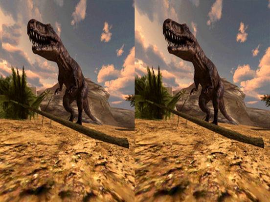 VR Jurassic Land Tour Cardboard Game screenshot 8