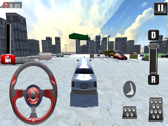 Real Limousine Parking : City Driv-e Sim-ulator screenshot 7