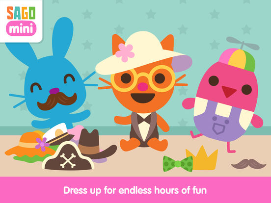 Sago Mini Babies Dress Up screenshot 6