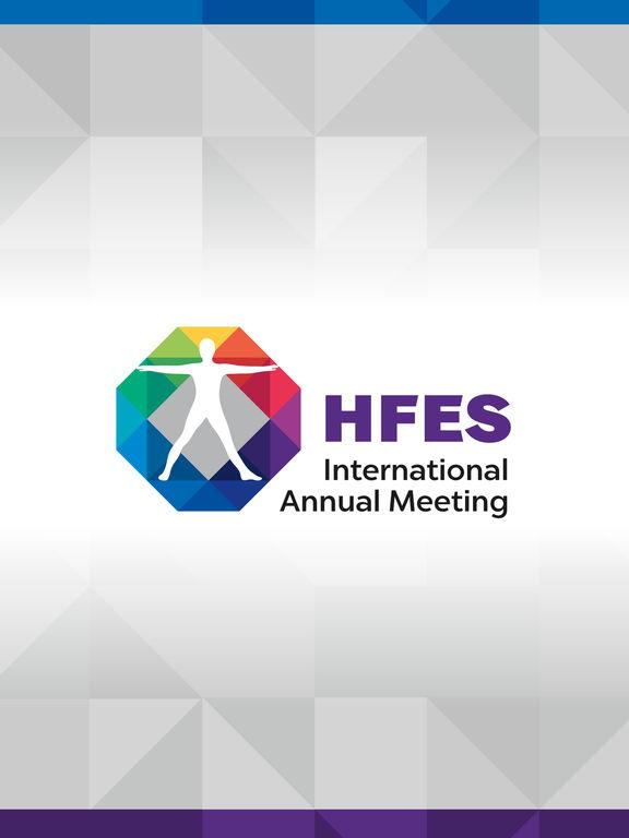 HFES 2016 Annual Meeting screenshot 4