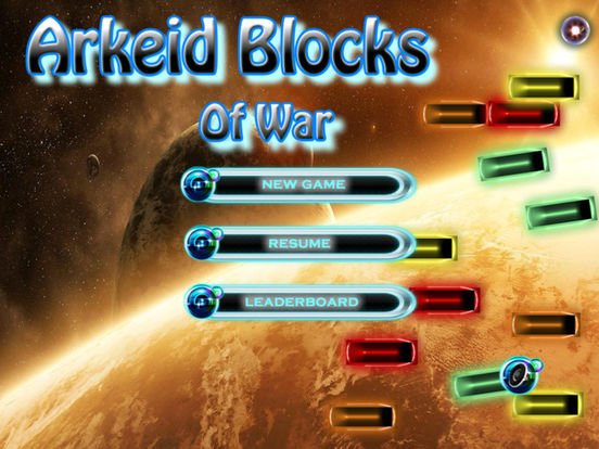 Arkeid Blocks Of War - Amazing Breakout Kings Games screenshot 6
