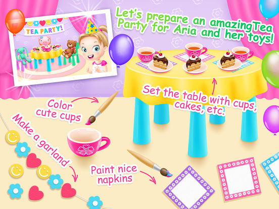 Doll House 2 - Toy Tea Party screenshot 7