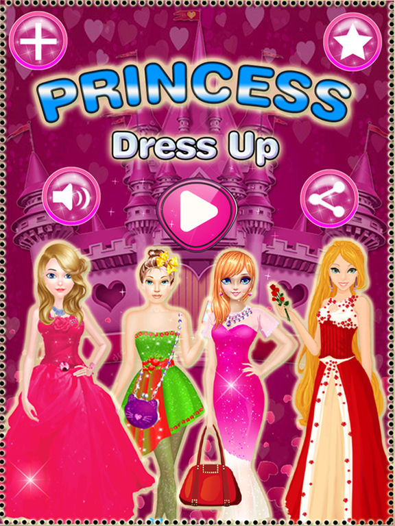 Princess dress up planner - cute princess dress up games for girls screenshot 6