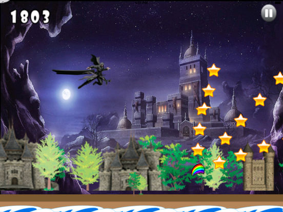 A Dark Wizard Jump Pro - Magic With Air Race screenshot 10