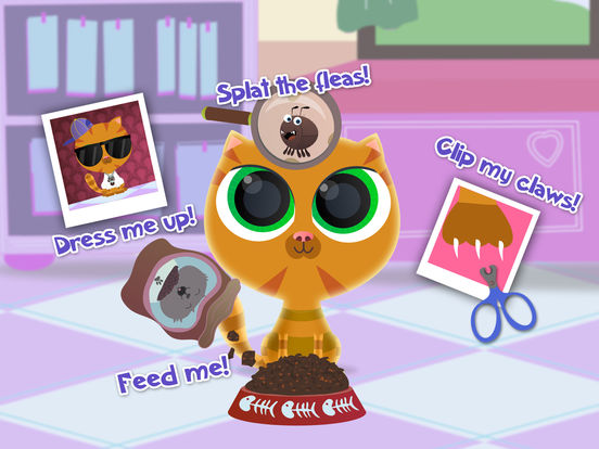 Pet Shop Animal Care - Nails & Dress Up screenshot 7
