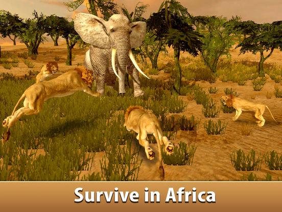 Big Elephant Simulator: Wild African Animal 3D Full screenshot 5