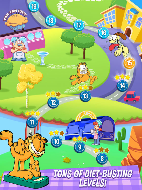 Garfield: My BIG FAT Diet screenshot 10