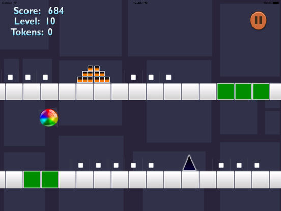 Ball Geometry Color Jumping - True Geometric War Is About To Begin screenshot 7