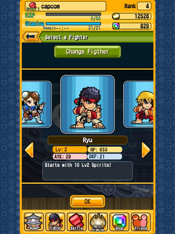 Street Fighter Puzzle Spirits screenshot 6