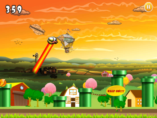 Best Flying Bird Pro screenshot 5