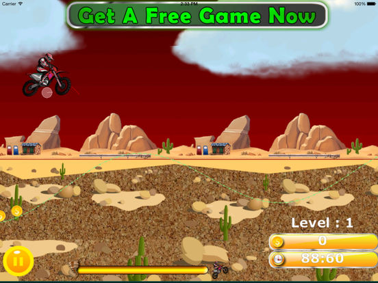 A Wild Trial Motocross Pro - Xtreme Downhill Bike screenshot 8