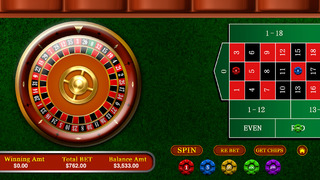 Las Vegas Casino Roulette Pro - Ultimate American roulette table screenshot 3