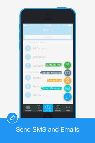 Group SMS Pro – Easy Personalized SMS - náhled