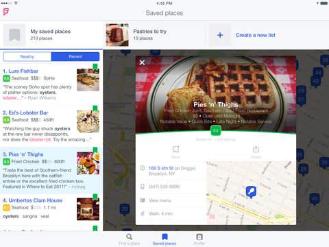 Foursquare City Guide screenshot 9