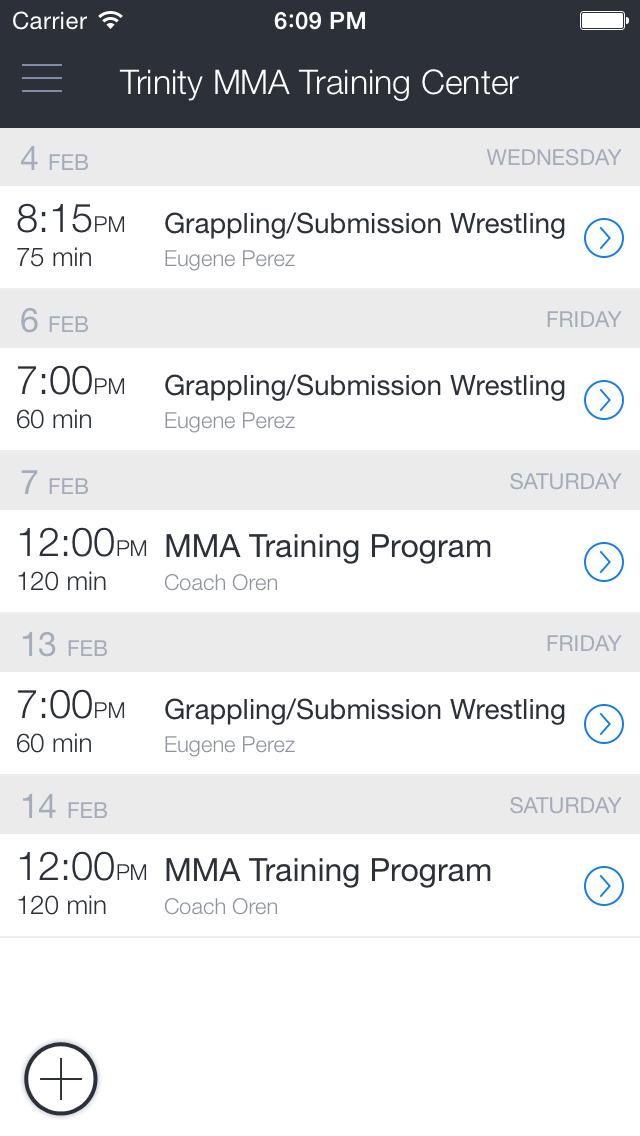 Mt. Olive NJ Trinity MMA screenshot 1