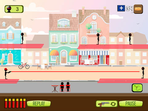 Stickman Commando Attack screenshot 7
