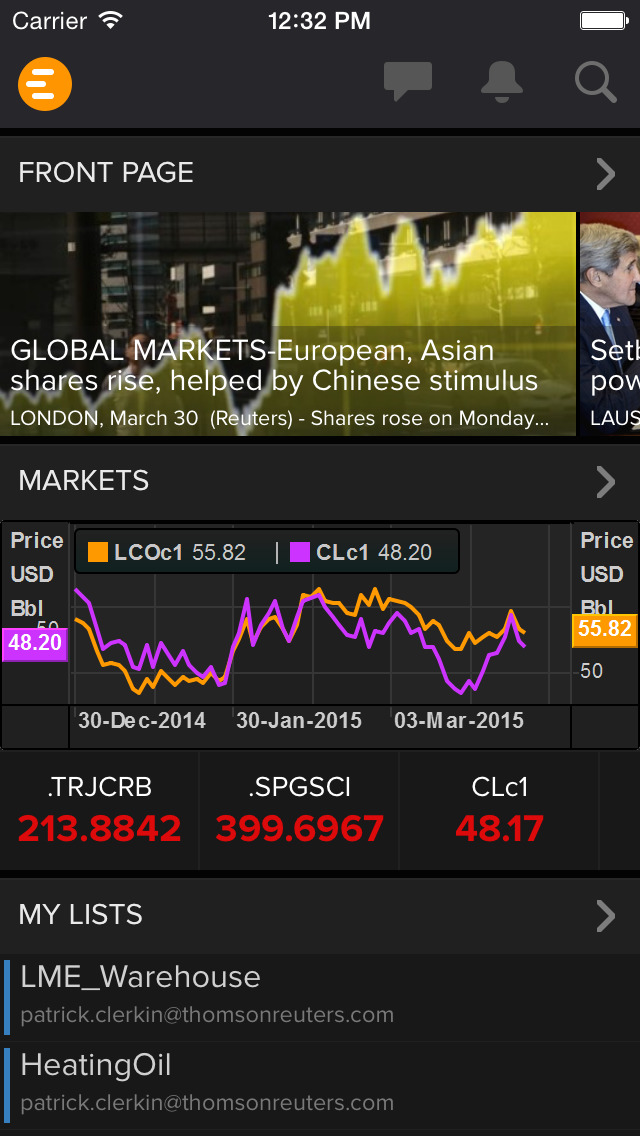 Thomson Reuters Eikon screenshot #1