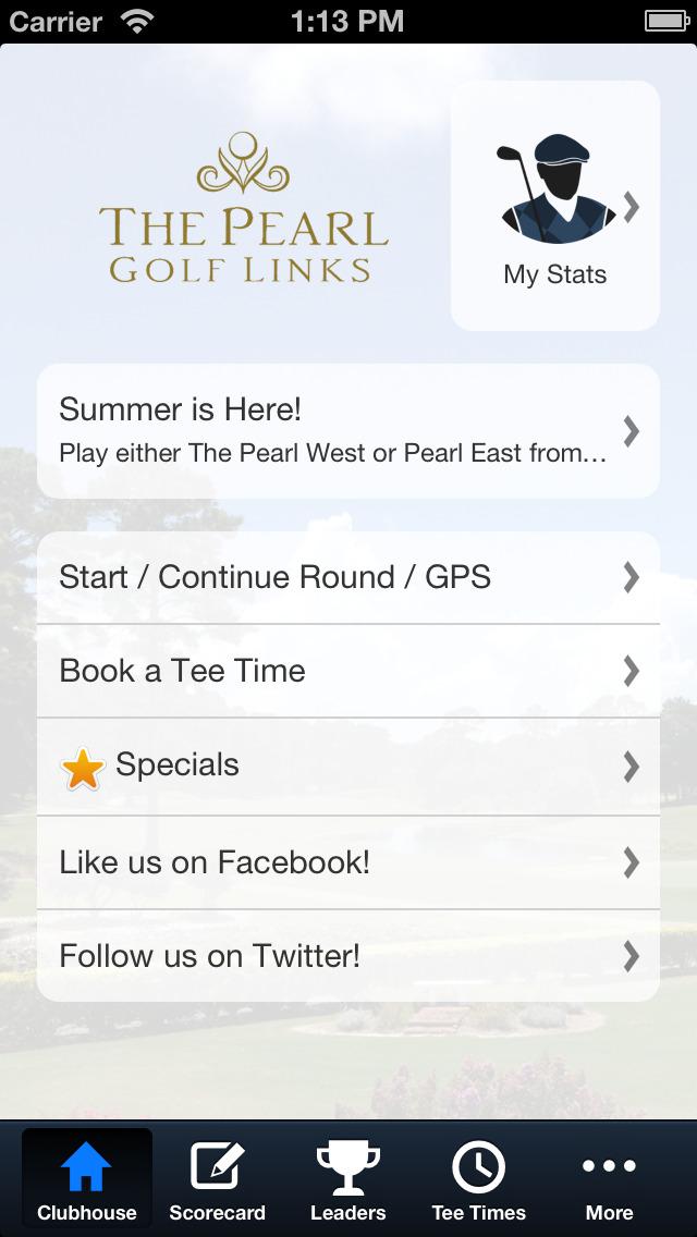 The Pearl Golf screenshot 2