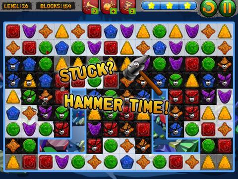 Shape Matcher 2 - Best Diamond Match-3 Scramble screenshot 8