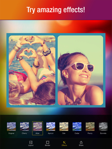 Multiframe — Photo Collage Maker and Picture Editor screenshot 8