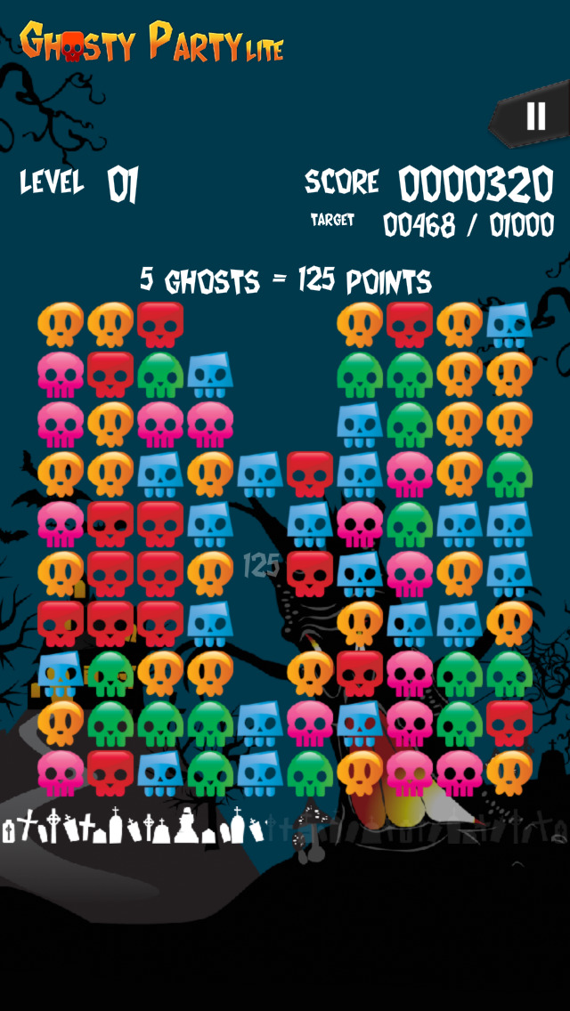 Ghosty Party Lite screenshot 3