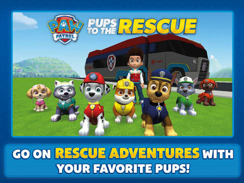 PAW Patrol to the Rescue HD screenshot 1