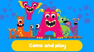 My first alphabet and letters monster puzzle Jigsaw Game for toddlers and preschoolers screenshot 5