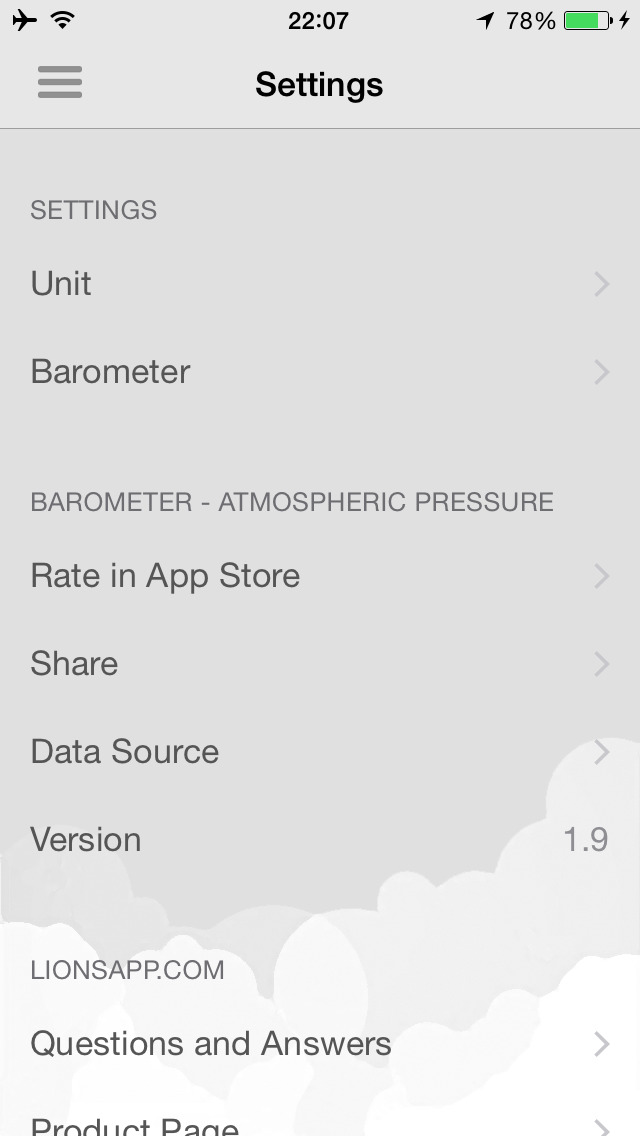 Barometer-Atmospheric pressure screenshot 4