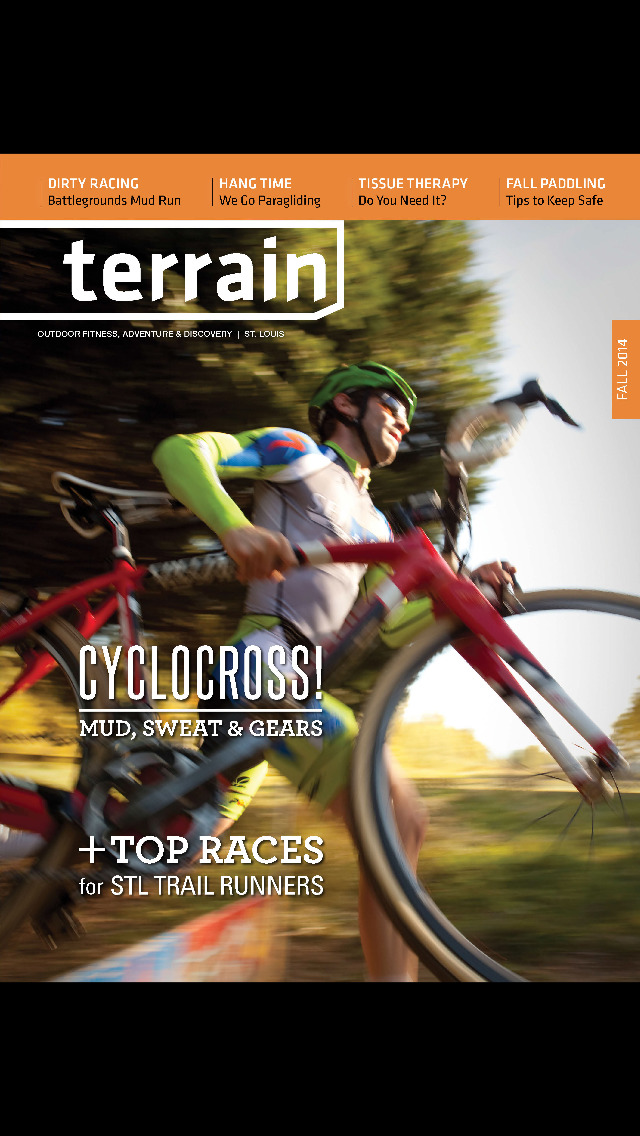 Terrain Magazine screenshot 1