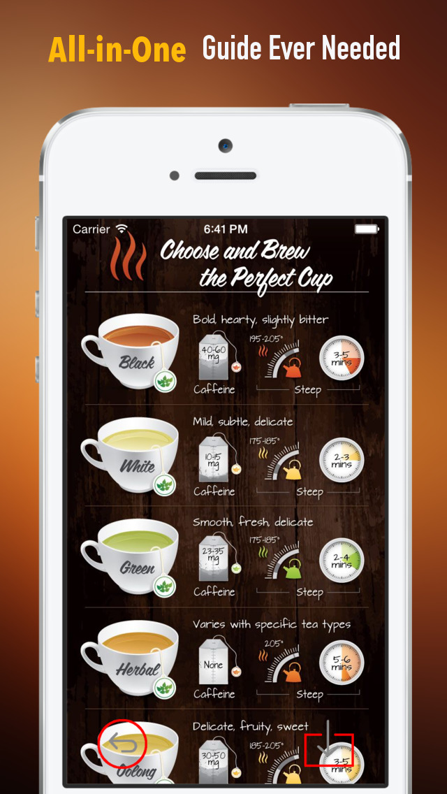 Tea 101: Quick Study Reference with Video Lessons and Brewing Guide screenshot 2