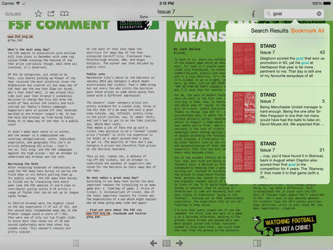 STAND Fanzine screenshot 9