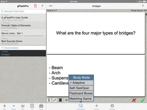 gFlashPro - Flashcards & Tests screenshot 7
