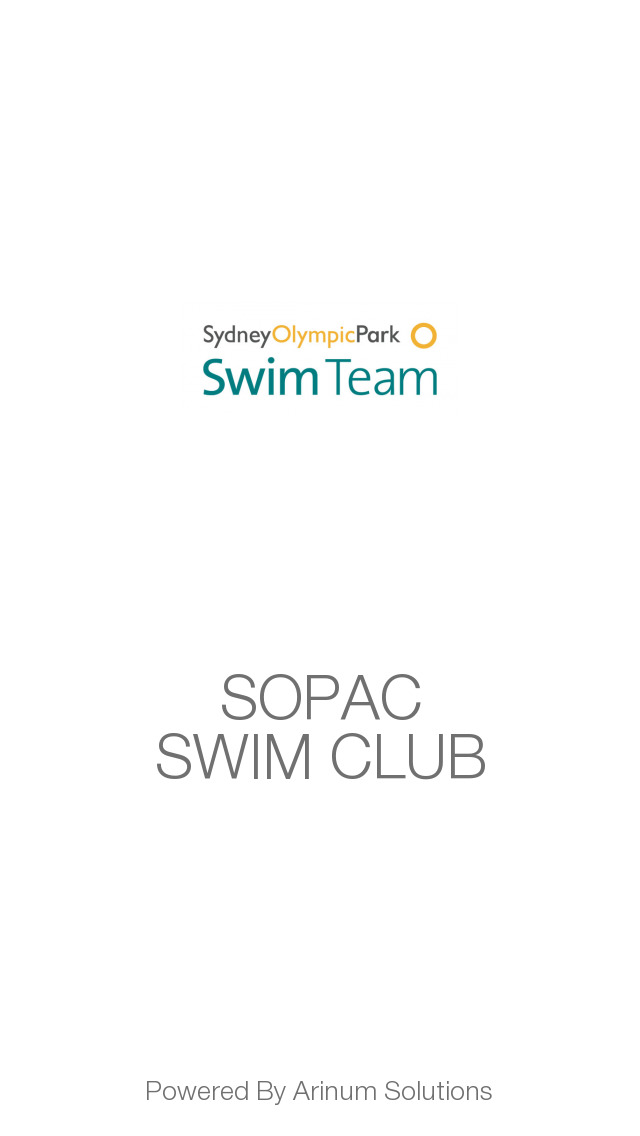 SOPAC SWIM CLUB - Sydney Olympic Park Aquatic Center screenshot 1