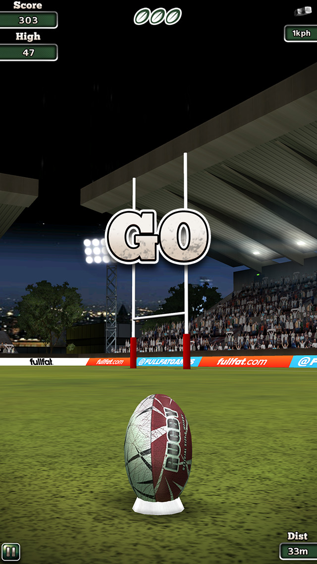 Flick Nations Rugby screenshot 2
