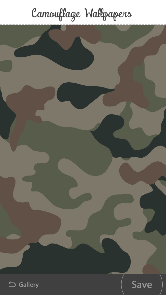 Free Camouflage Wallpapers screenshot 2