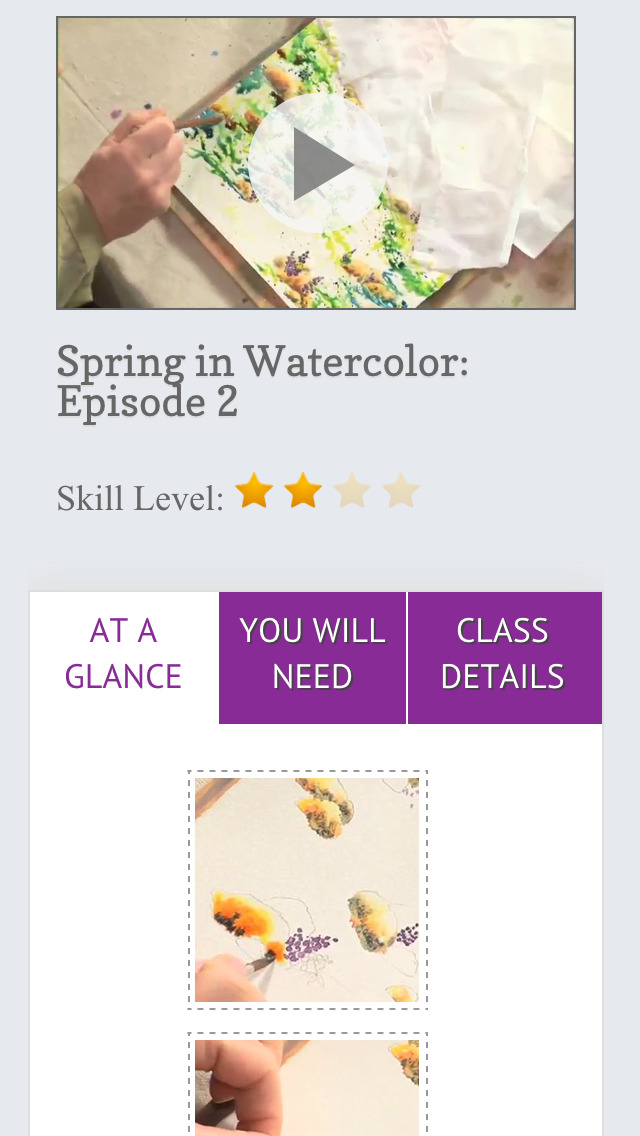 Paint a Spring Landscape in Watercolor screenshot 5