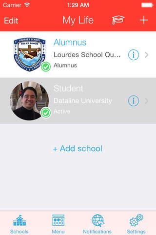 studentUpp - náhled