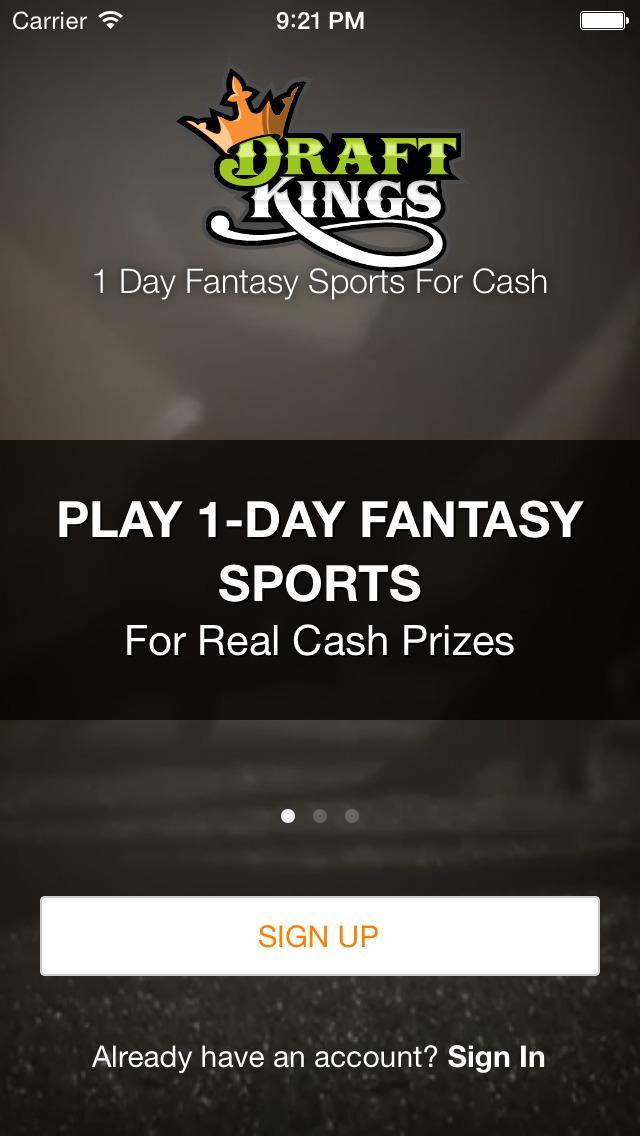 DraftKings Fantasy Football screenshot 1