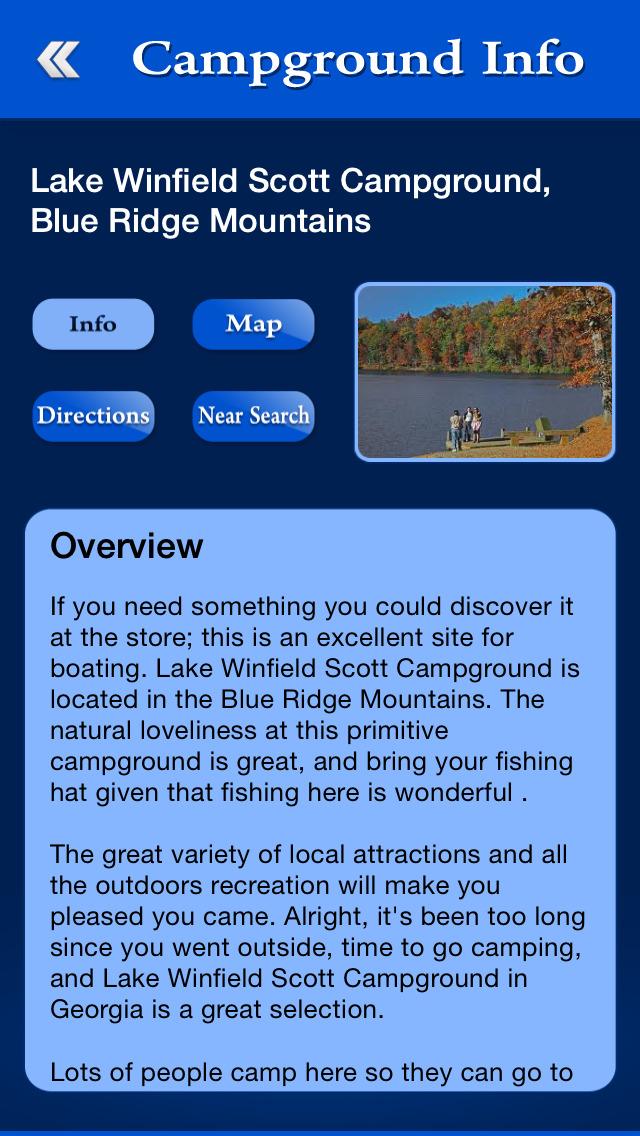 Georgia Campgrounds Guide screenshot 3