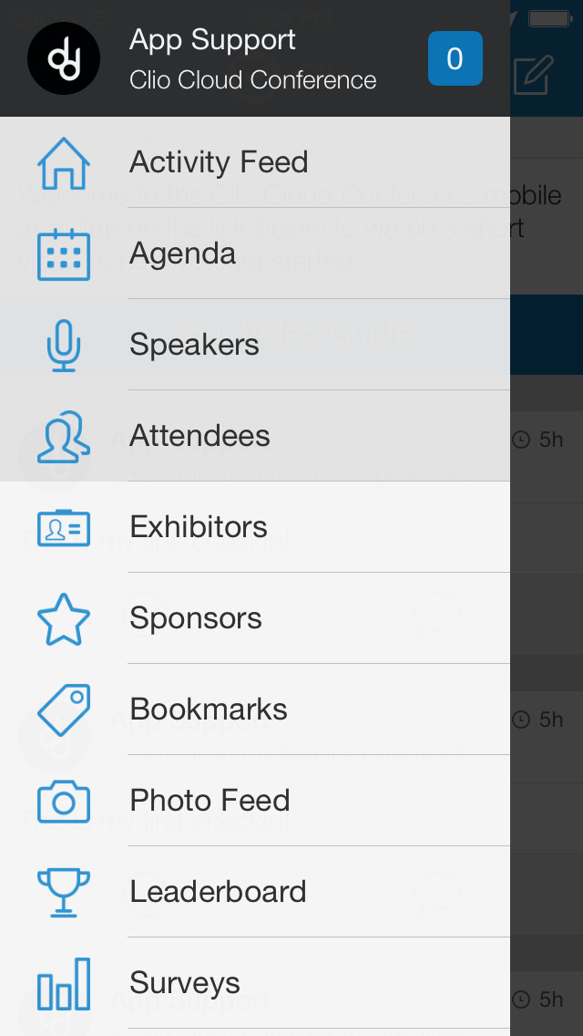 Clio Cloud Conference screenshot 2