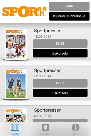 Sportpressen - náhled