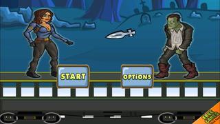 Amazing Girl Zombie Slayer - Best running and fighting game screenshot 2