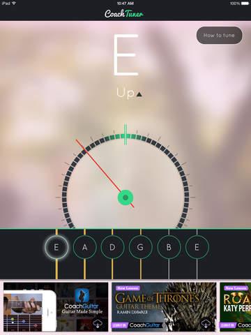 Guitar Tuner Easy tune chords screenshot 4