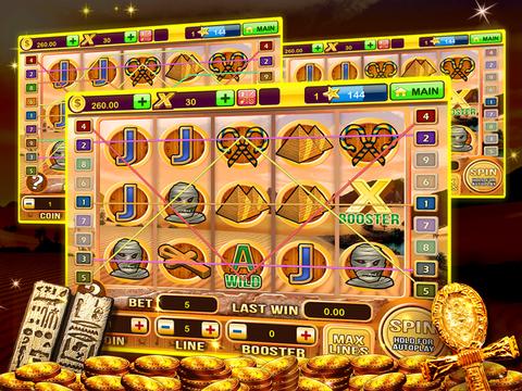 A Pharaoh's Gold Las Vegas Progressive Casino Slots screenshot 10