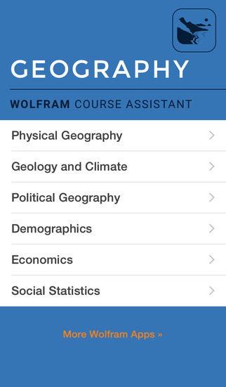 Wolfram Geography Course Assistant screenshot 1